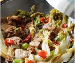 干锅辣白菜的做法