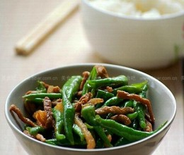 杭椒炒肉丝的做法