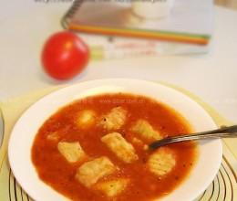 番茄土豆疙瘩浓汤的做法