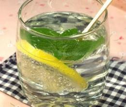 薄荷柠檬苏打汽水的做法