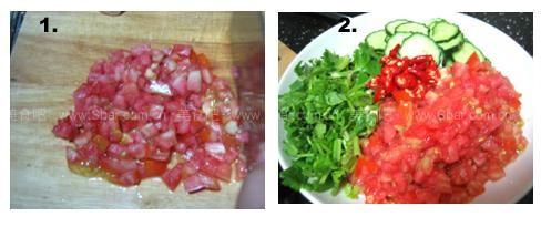 傣式凉拌黄瓜的做法