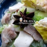 白菜豆腐鍋