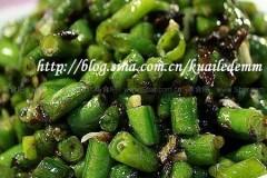 橄榄菜豇豆的做法