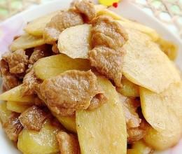 蚝油茭白肉片的做法