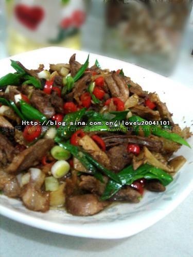 小米椒炒拆骨肉