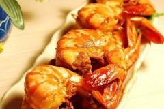 爆炒青虾的做法