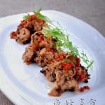 豉椒蒸素鸡的做法