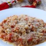 芝士焗番茄肉醬意面(早餐食譜)