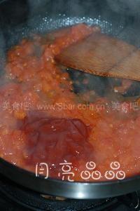 芝士焗番茄肉醬意面