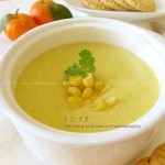 玉米浓汤(早餐食谱)