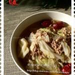 小鍋涮羊肉(白菜羊肉)