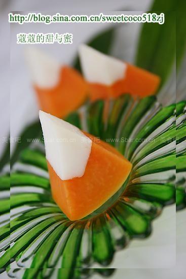 椰子木瓜冻