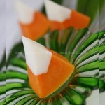 椰子木瓜冻(低碳甜点)
