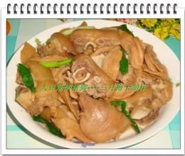 大豆筋焖猪脚