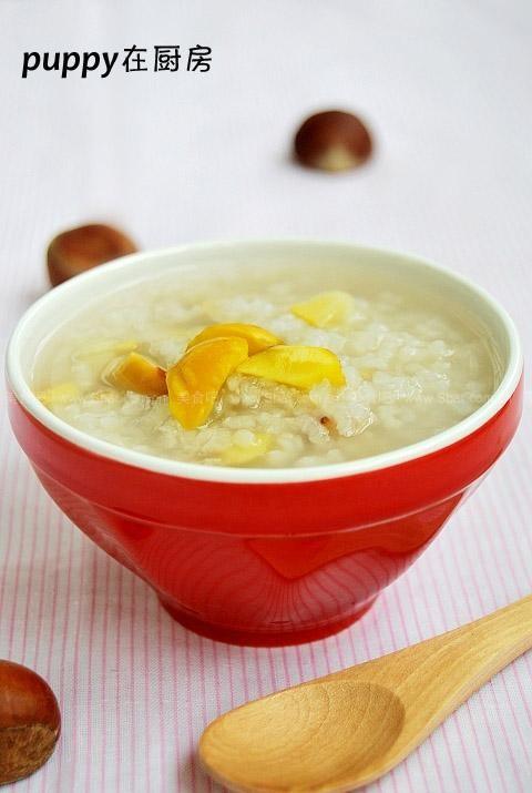 栗子冰糖粥