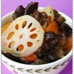 木耳拌藕片(节后凉菜)