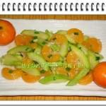 桔子炒西葫蘆(水果菜)