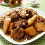 川味土豆燒排骨(葷素搭配)