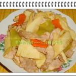 冬笋炒肉片(荤素搭配)