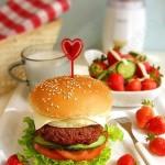 牛肉汉堡(早餐食谱)