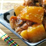 土豆南瓜燉雞的做法