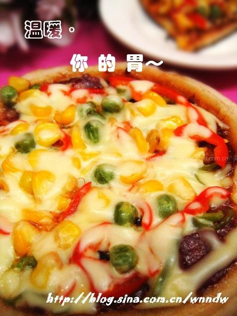 电饭锅做披萨