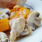 奶油南瓜雞(葷素搭配)