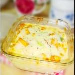 奶酪焗南瓜(烤箱菜)