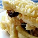 自制好吃的咸甜两味萨其马(萨其玛的前身原来是满族人的饽饽)