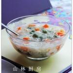 银耳木瓜米酒汤圆(健康甜品)