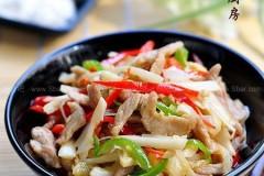 酸笋炒肉的做法