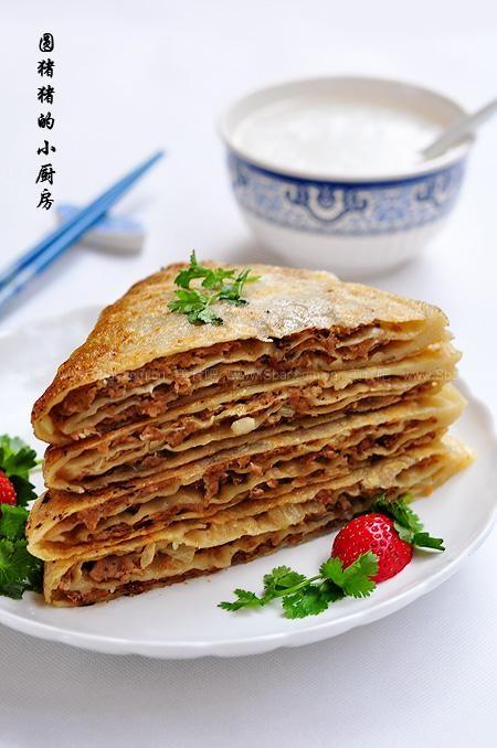 京都肉饼的做法