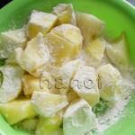 咸蛋土豆的做法