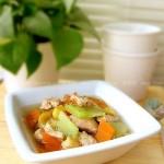 栗子鸡球汤的做法