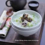 海参芹菜粥(早餐食谱)