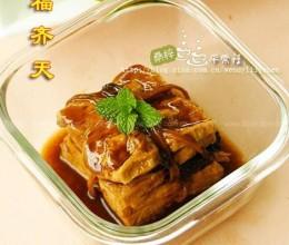 白菜干豆腐