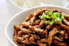 酱炒平菇肉