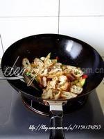西葫芦炒油条