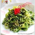 粉蒸芹菜(最受百姓欢迎的家常凉菜)