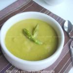 奶油芦笋浓汤(零厨艺的西式奶油浓汤)
