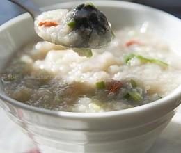 鲜贝香菇粥