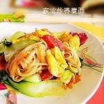 家常炒蕎麥面(早餐食譜)