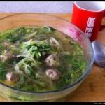 萝卜丸子汤的做法