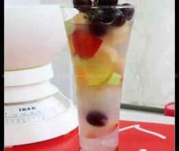 蓝莓水果捞