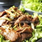 纸上烤肉的做法