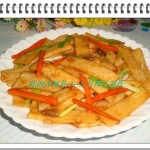 蚝油杏鲍菇(素菜)