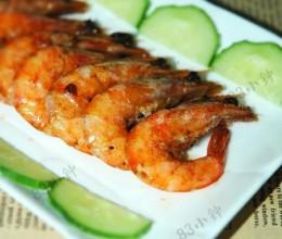 酱烧大虾的做法