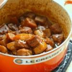 芋頭燒肉(葷素搭配)