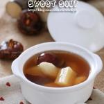 甘蔗马蹄甜汤(自制甜汤)
