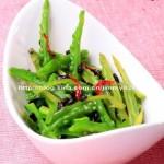 尖椒豆豉烤苦瓜(烤箱菜)